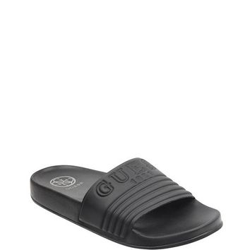Susie Logo Slide Sandals at Guess