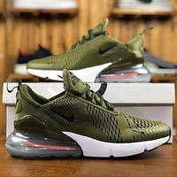 Nike Air Max 270 Olive Men Sport Running Shoes AH8050-201