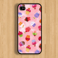 Sweet Cupcake Case : Iphone 4/4s case Iphone 5 case