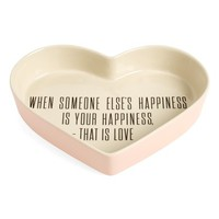 Bloomingville Alberte Heart Shaped Ceramic Tray | Nordstrom
