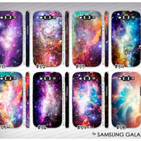 Samsung Galaxy S3 i9300 - Nebula galaxy galactic cosmic space ombre swag case cover