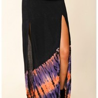 Blu Moon - Two Slit Skirt