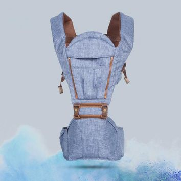 Toddler Backpack class purified cotton 2017 Position Baby Carrier Multifunction Breathable Infant Backpack Kid Carriage Toddler Sling Wrap Suspenders AT_50_3