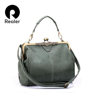 Retro women messenger bags small shoulder bag high quality PU leather tote bag small clutch handbags