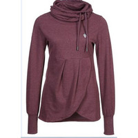 Autumn Irregular Long Sleeve Hoodies [7322498945]