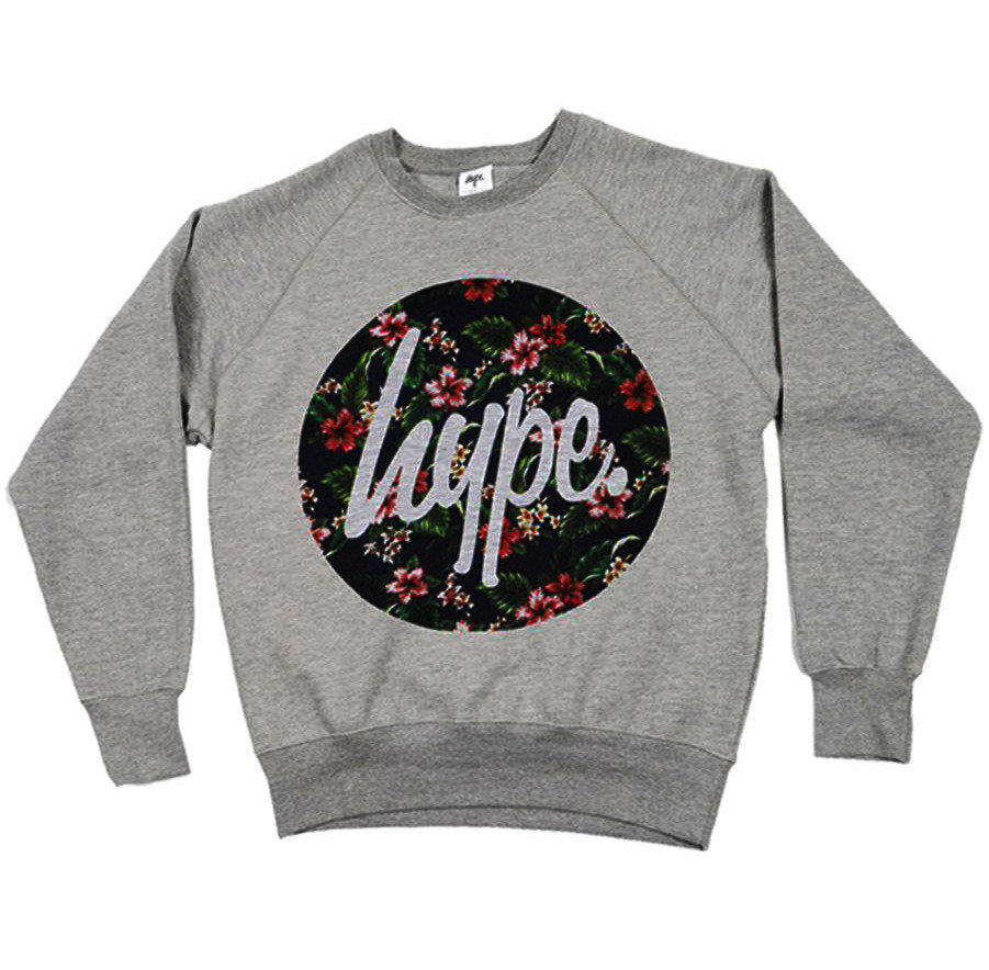 Hype Clothing Hype Flower Crew From Hypeclothinguk
