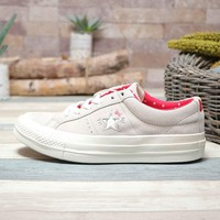 Converse One Star x Hello Kitty Low Top Women Shoes White - Best Deal Online