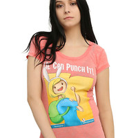 Adventure Time We Can Punch It Girls T-Shirt