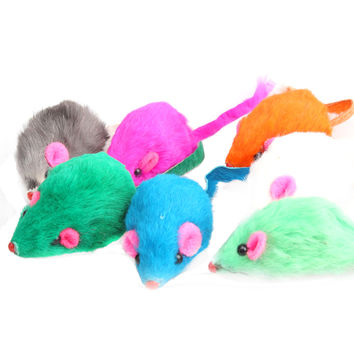 Soft Fleece Fake Mouse Toy