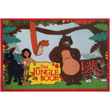 Fun Rugs Jungle Book Collection The Jungle Book Area Rug