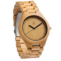 All Wood Watch // All Bamboo Boyd