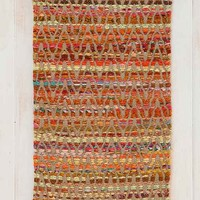 Magical Thinking Woven Jute Handmade Rug- Orange 4X6