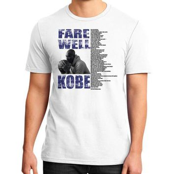 apparels kobe district t shirt on man  number 2
