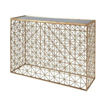 Worlds Away Charles Console Table