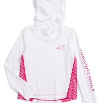 Vineyard Vines Active Hooded Tee (Toddler Girls) | Nordstrom