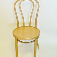 Thonet bentwood chair {Natural Wood}
