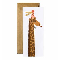 Birthday Giraffe No. 10 Card