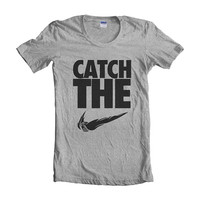 Catch The Snitch women short sleeves t-shirt tee