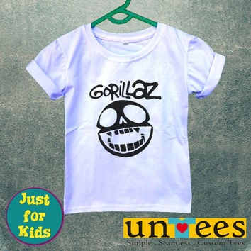 Gorillaz Logo for Kids/Youth/Toddler Short Sleeve T-Shirt