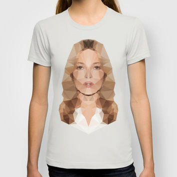 Kate Moss T-shirt by Three of the Possessed | Society6
