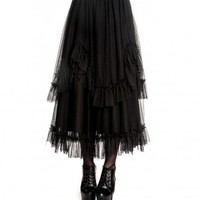 Eleanor Long Skirt :: VampireFreaks Store :: Gothic Clothing, Cyber-goth, punk, metal, alternative, rave, freak fashions