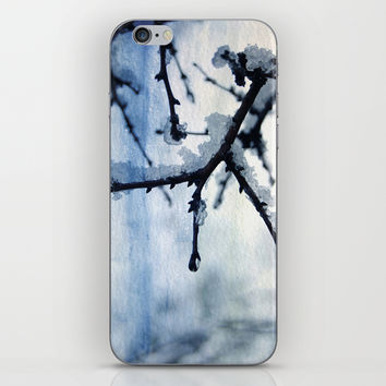 Snow and water iPhone & iPod Skin by VanessaGF | Society6
