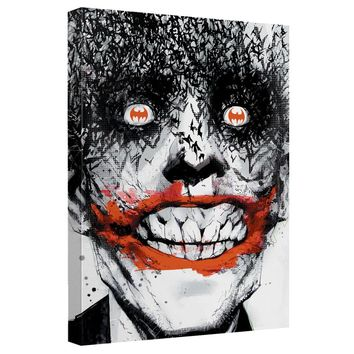 Batman - Joker Bats Canvas Wall Art With Back Board