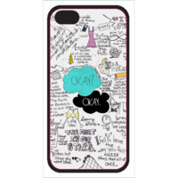 DFTBA Records :: iPhone 5 Hard Case- TFiOS Collage