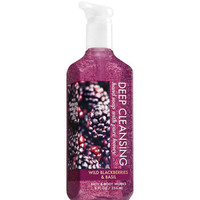 Wild Blackberries & Basil Deep Cleansing Hand Soap | Bath And Body Works