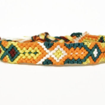 Diamond Pattern Friendship Bracelet