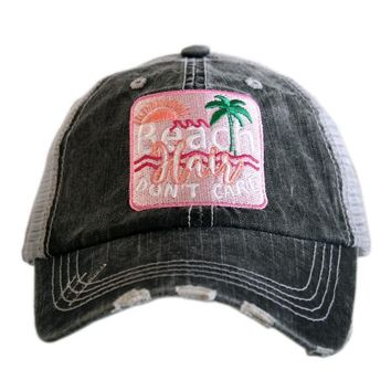 "NEW!! ""Beach Hair Don't Care"" Trucker Hat"