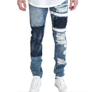 Embellish Nyc Lewis Denim Jeans - Beauty Ticks