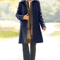 Classic 3/4 Length Coat Misses | Chadwicks