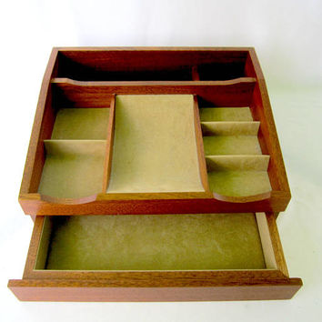 Agresti Dresser Valet Mens Jewelry Box Made in Italy