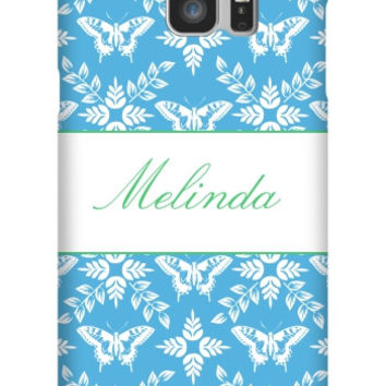 Personalized Butterfly Galaxy Note 5 Slim Case