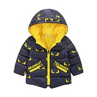 Children Down Parkas Kids Winter Jackets & Coats