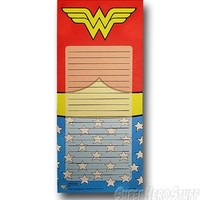 Wonder Woman Costume Magnetic Notepad