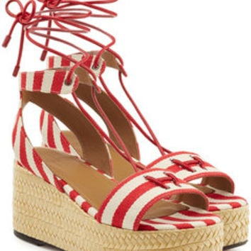 Striped Wedges - Sonia Rykiel | WOMEN | US STYLEBOP.COM