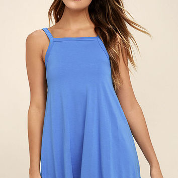 RVCA Thievery Blue Dress