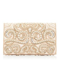 Nadine Embellished Clutch - Forever New