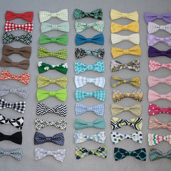 Clipon Bow Tie for Toddlers and Boys Easter Bow Tie by SewCozyKids