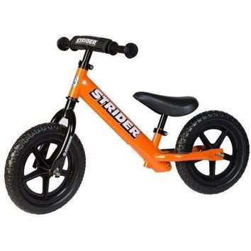 DCCKGQ8 strider 12 sport kids balance bike no pedal learn to ride pre bike orange new