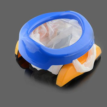 1Pc Baby plastic toilet seat Infant Chamber Pots Ring Kids Children Trainers Portable Potty Toilet Folding Comfortable Chair