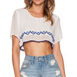 Raga Lucy Crop Top in White