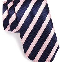 Men's Thomas Pink Woven Silk Tie