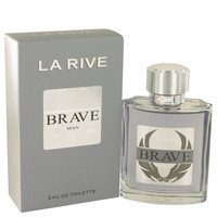 La Rive Brave by La Rive Eau DE Toilette Spray 3.3 oz