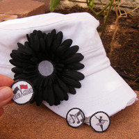 Color guard mom hat, dance mom hat, band mom hat, Three hats in One!