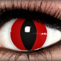 Red Cat Theatrical Contact Lens by ExtremeSFX