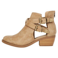 Andre Cutout Ankle Bootie