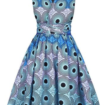 Casual Multi-Way Printed Skater Dress